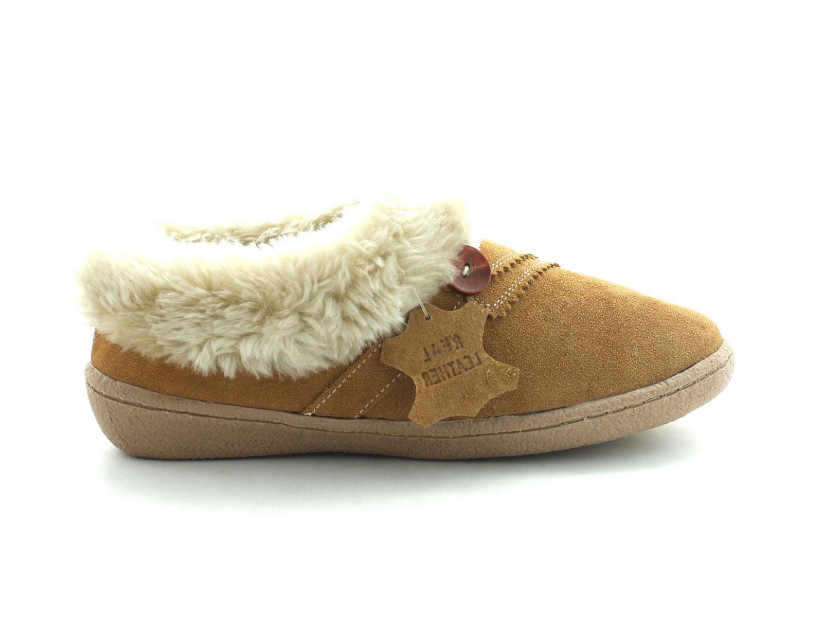Clarks Eskimo Snow in Tan Suede outer view