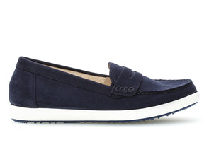 Gabor 62.464.86 in Navy suede outer view