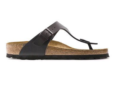 Birkenstock Gizeh in Black outer view