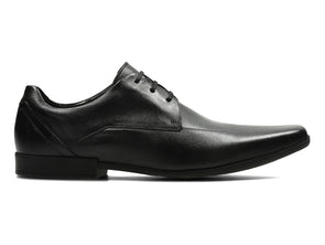 Clarks Glement Over in Black outer view