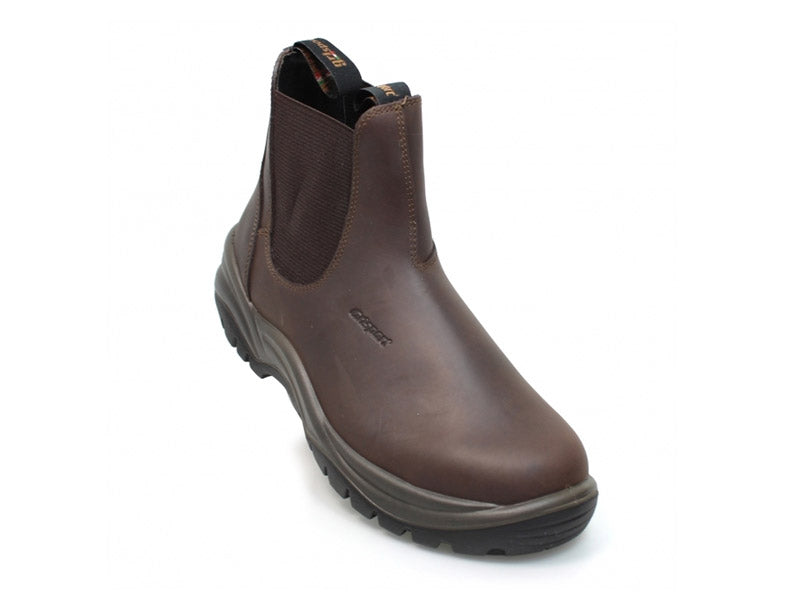 Gri Sport Chukka in Brown Leather inner view