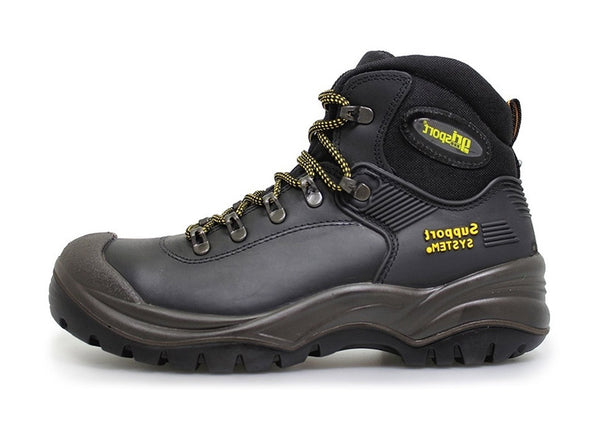 Gri Sport Contractor Safety Boot in Black inner view