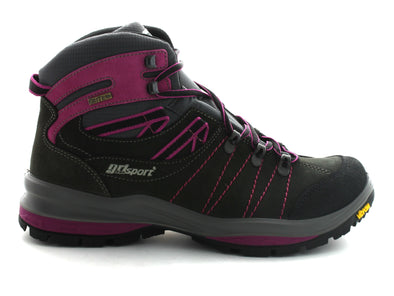 Gri Sport Magma-Hi in Grey & Pink outer view