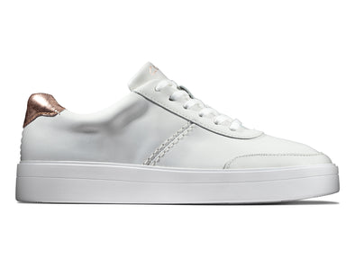 Clarks Hero Walk white combi outer view