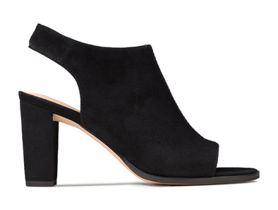Clarks Kaylin85 Sling black outer view