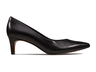 Clarks Laina55 Court black outer view