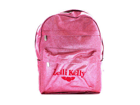 Lelli Kelly Rucksack in Pink front view