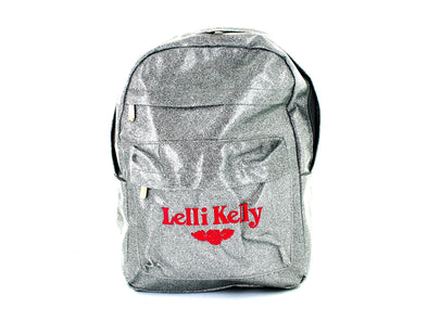 Lelli Kelly Rucksack in Silver front view