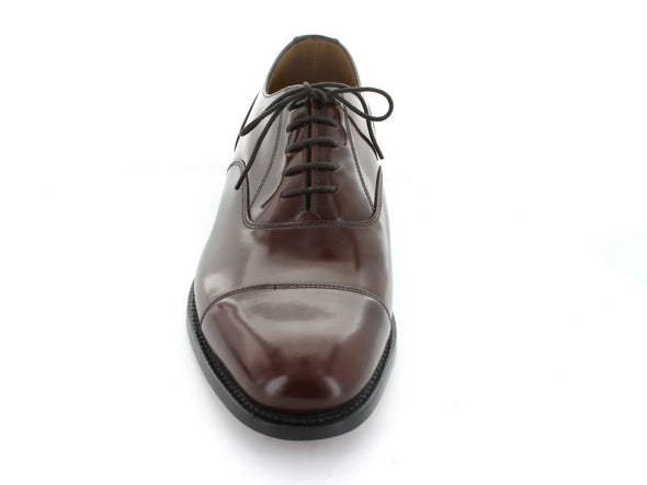 Loake 200 in Burgundy Leather front view