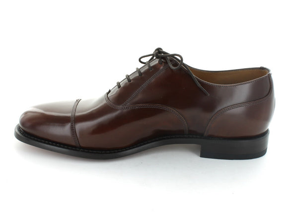 Loake 200 in Burgundy Leather inner view