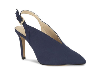 Lotus Isobel ULS116  navy suede outer view