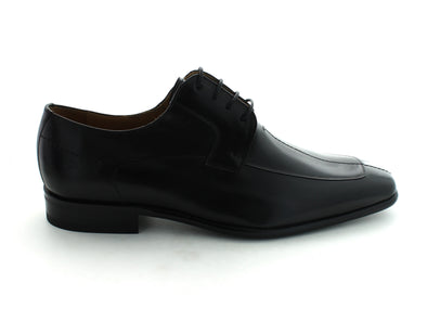Mezlan Malaga in Black Calfskin outer view