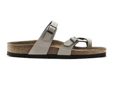 Birkenstock Mayari in Pull Up Stone outer view