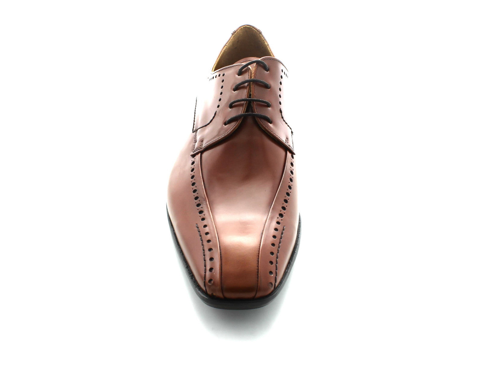 Mezlan Lille in Cognac Leather front view