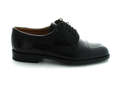 Mezlan Midleton in Black Leather outer view