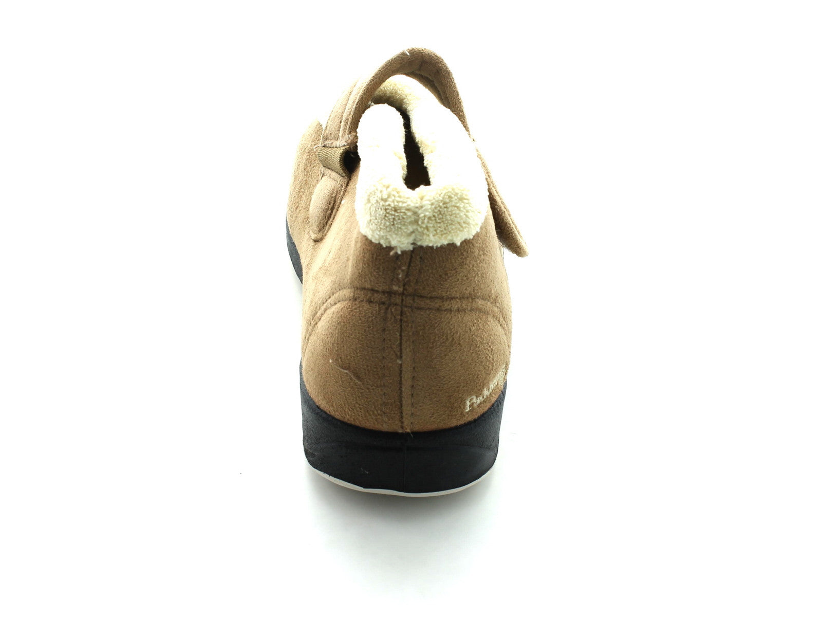 Padders Hush in Camel Suede back view