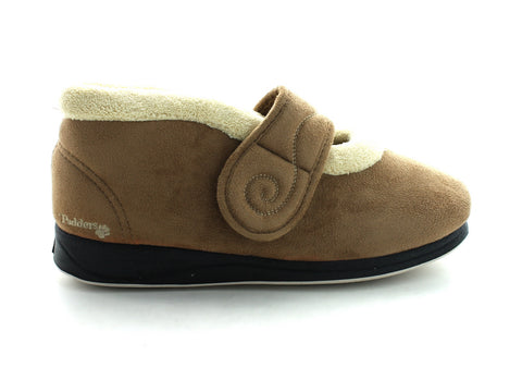 Padders Hush in Camel Suede outer view