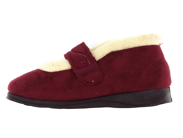 Padders Hush in Wine Suede inner view
