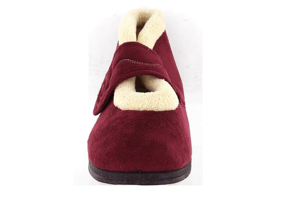 Padders Hush in Wine Suede front view