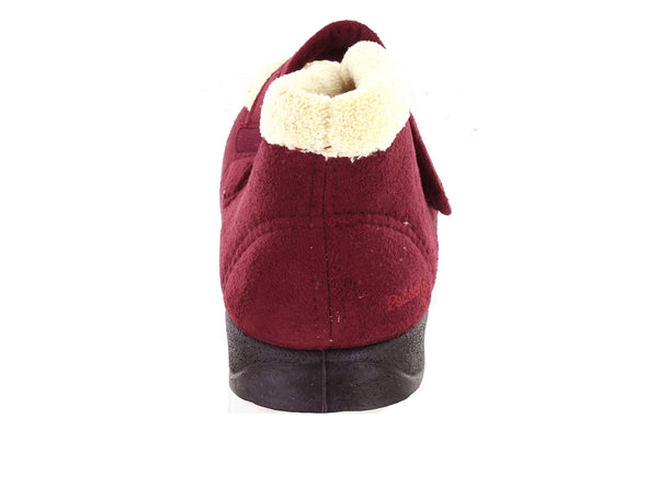 Padders Hush in Wine Suede back view