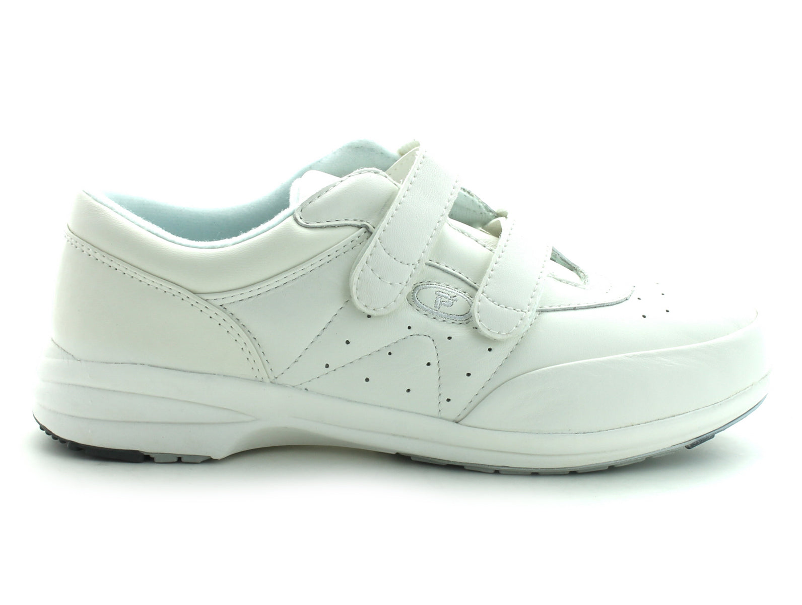 Propet 3845 in White Leather outer view