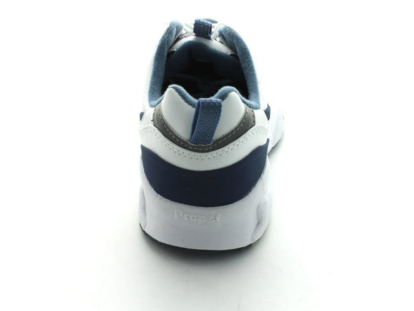 Propet W2034 in White & Navy back view