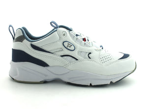 Propet W2034 in White & Navy outer view