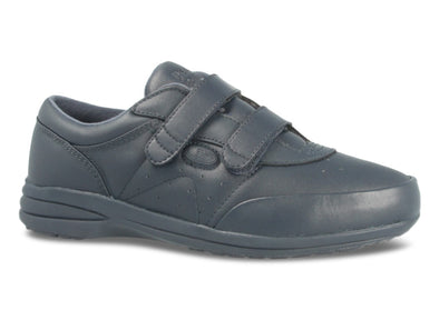 Propet 3845 in Navy Leather outer view