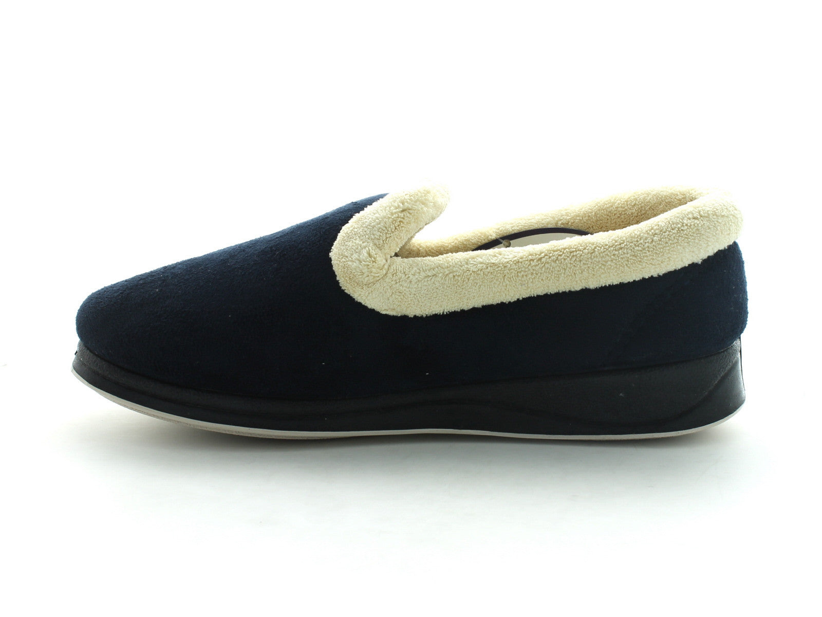 Padders Repose in Navy Suede inner view