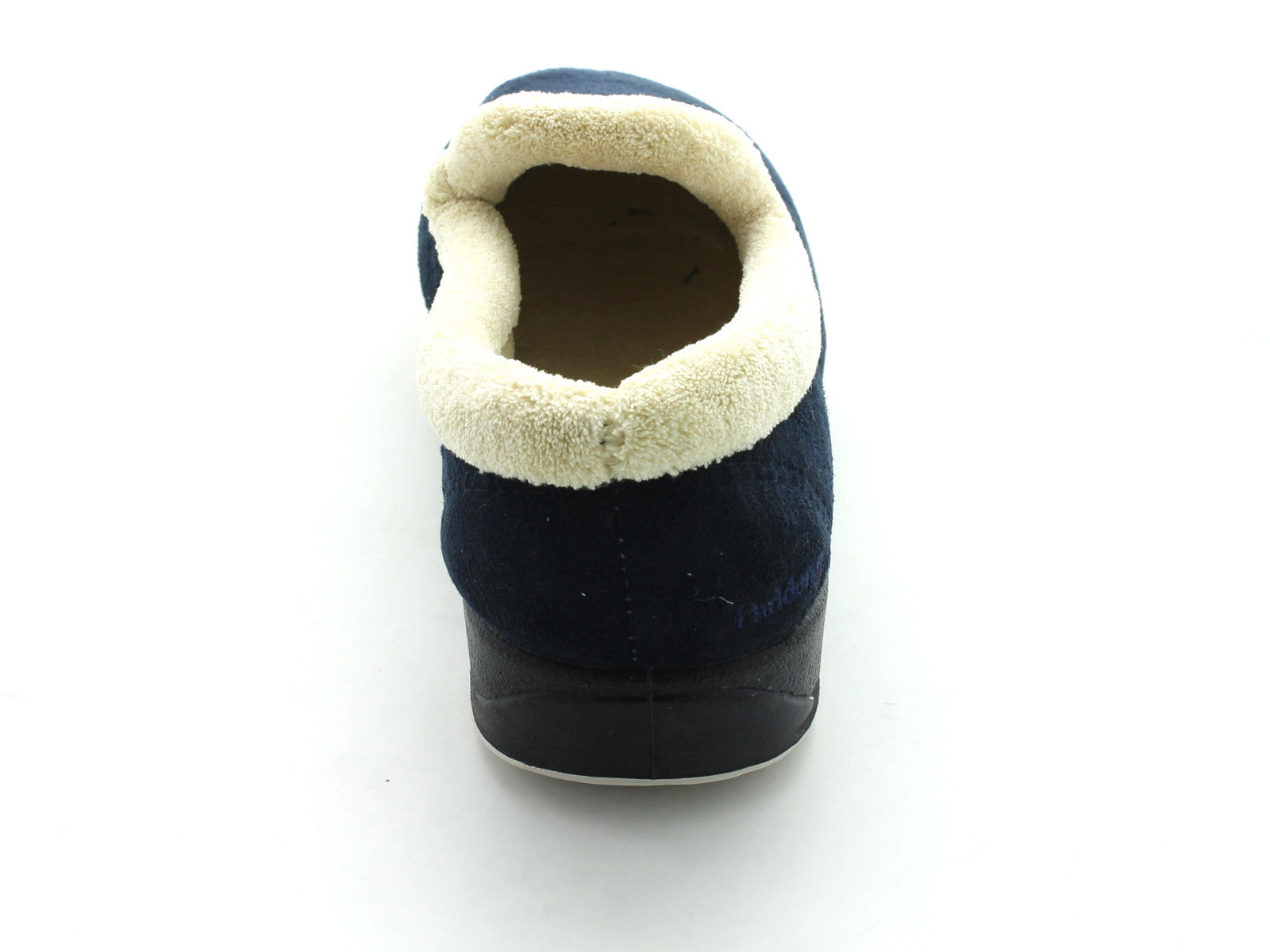 Padders Repose in Navy Suede back view