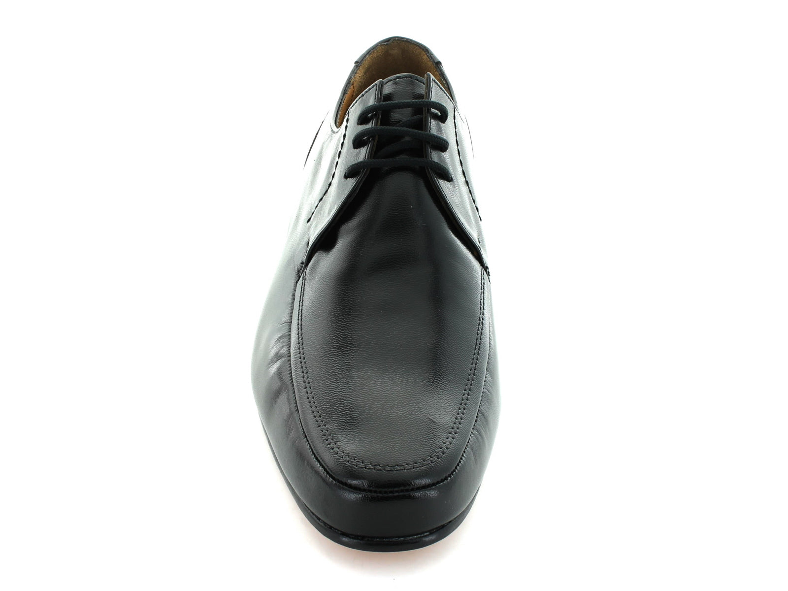 Rombah Wallace Romsey 8309 in Black Leather front view