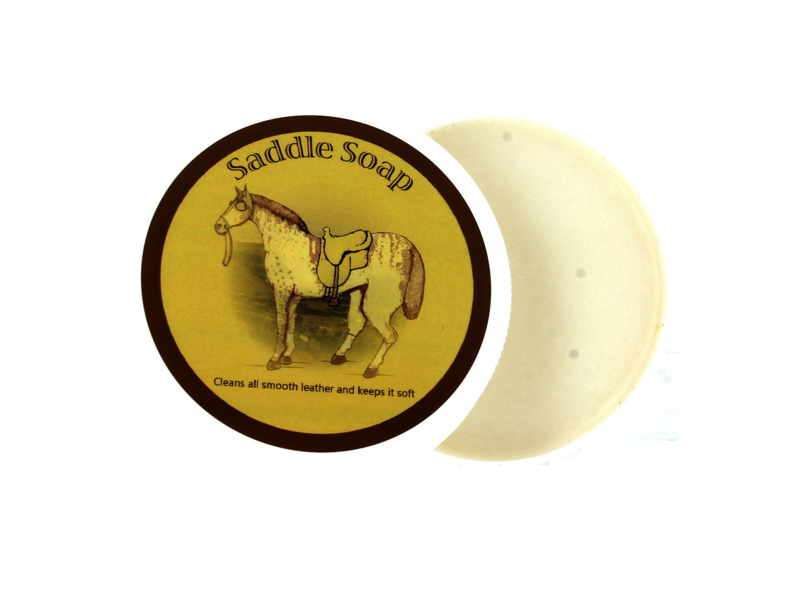 Saddle Soap Open View