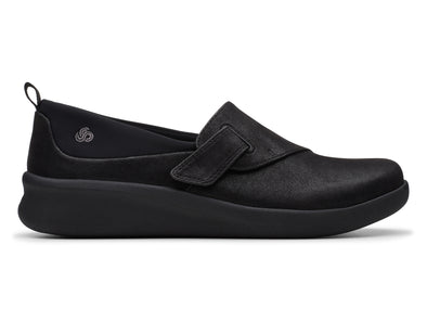 Clarks Sillain2.0Ease black outer view