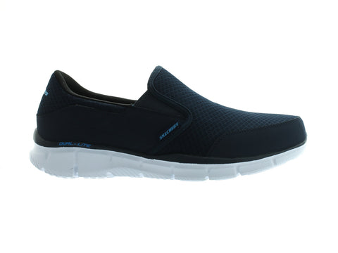 Skechers Equaliser - Persistent 51361 in Navy outer view