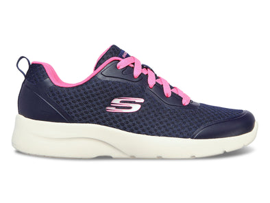 Skechers 149541 in Navy Hot Pink outer view