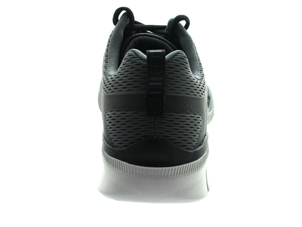 Skechers 52927 in Charcoal back view