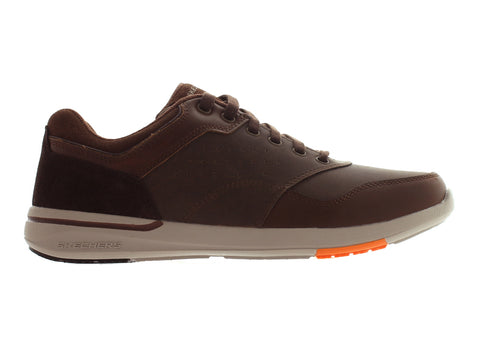 Skechers Relaxed Fit 65406 in Brown outer view
