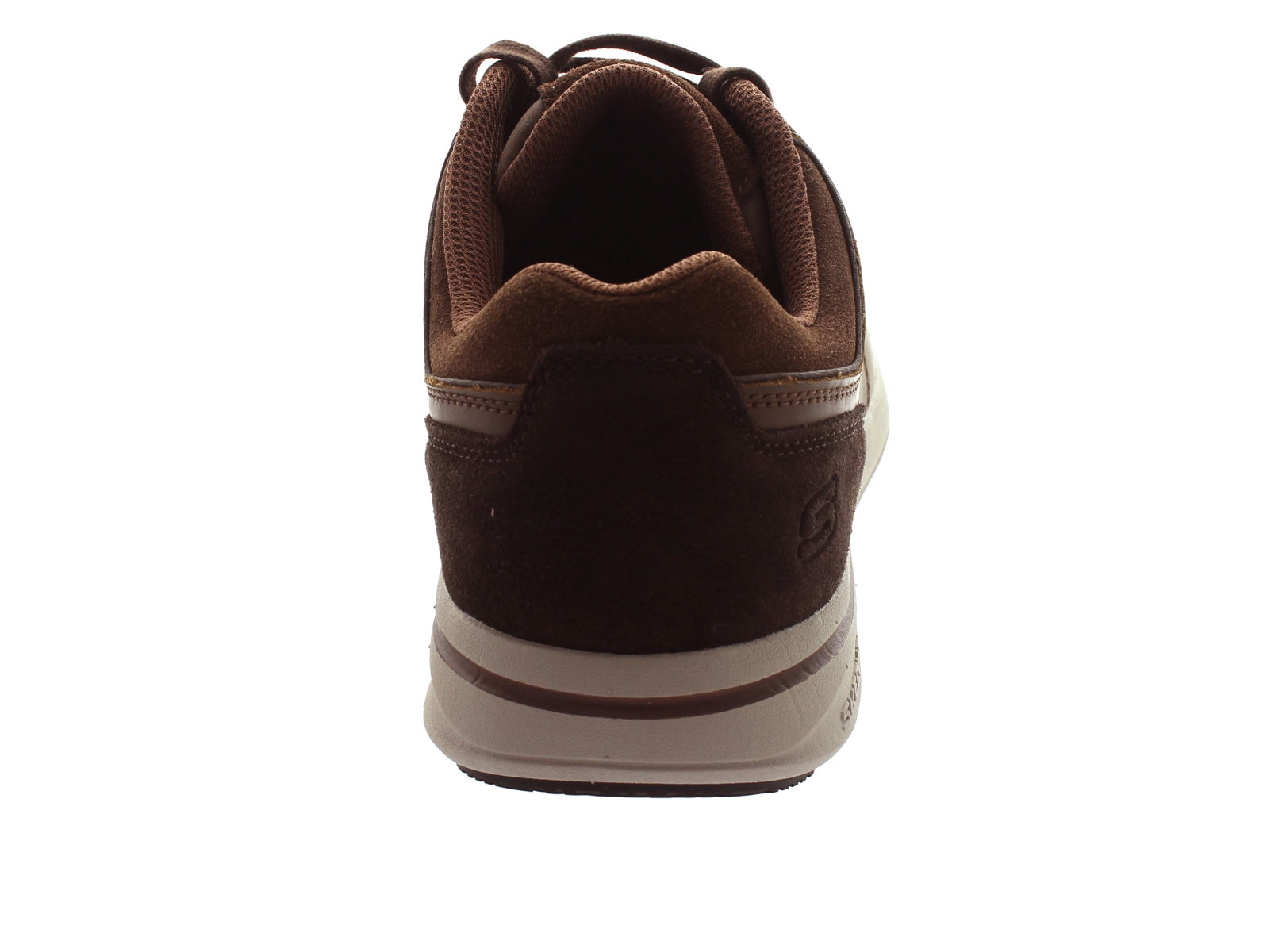 Skechers Relaxed Fit 65406 in Brown back view