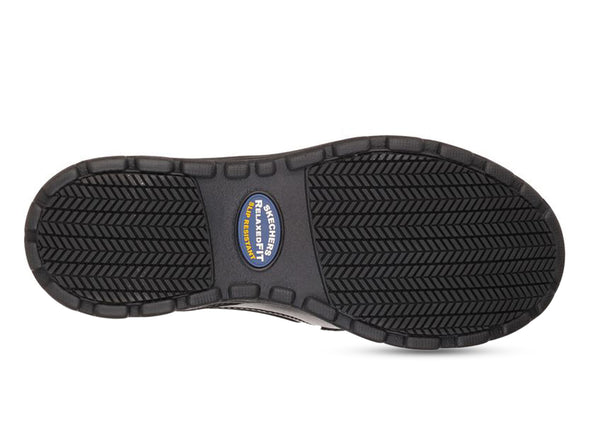 Skechers 77005 in Black back view