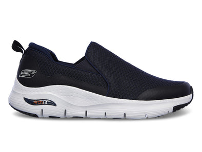 Skechers 232043 in Navy Grey outer view