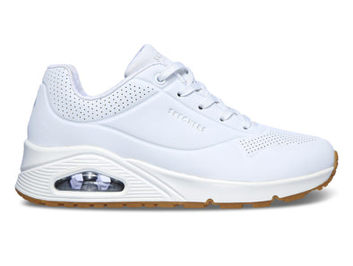 Skechers Uno Stand on Air white outer view