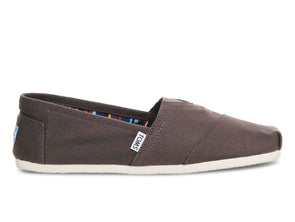 Toms Women's Classics 10000871 in Ash outer view