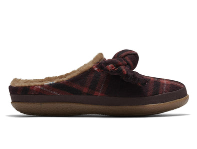 Toms 10015841 in Red Plaid outer view