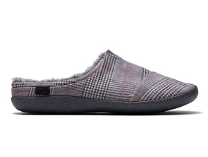 TOMS Berkeley in Grey Plaid outer view