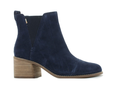 Toms Esme navy outer view