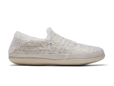 TOMS India 10014631 in White Metallic Boucle outer view