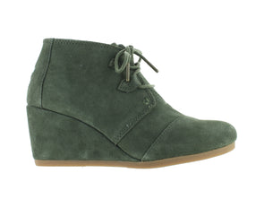 Toms Kala olive outer view