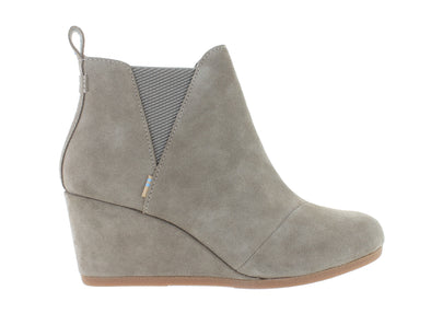 Toms Kelsey taupe outer view