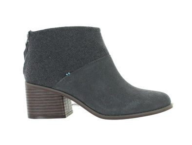 Toms Lacy grey outer view
