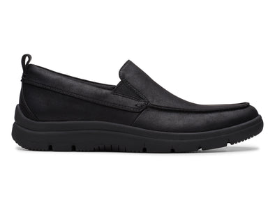 Clarks Tunsil Way black outer view